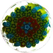 Star Cluster Murrini Borosilicate 33 COE (4 Gram minimum)