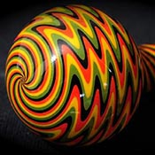Rasta with Black Line (sold by the pound, 1/4 lb. minimum)