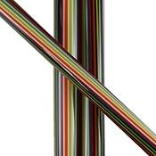 Black White Rainbow Quad (sold by the pound, 1/4 lb. minimum)