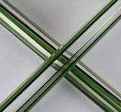 Illuminati - Clear, Jade, Mighty Moss and Black Quadrant (UV) (sold by the pound, 1/4 lb. minimum)