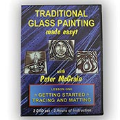 Painting on Glass - DVD