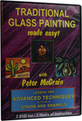 Traditional Glass Paint Vol II DVD