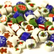 Holiday Millefiori Slices Assortment Pack - 96 COE