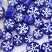 Snowflake Millefiori Slices - 96 COE