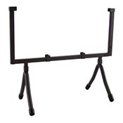 Wrought Iron Square Display Stand holds 10 square
