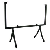 Wrought Iron Square Display Stand holds 12 square