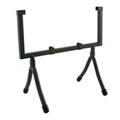 Wrought Iron Square Display Stand holds 8 square