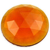Amber Jewel - Round (30mm)
