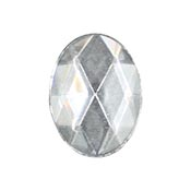 Clear Jewel - Oval (40 x 30 mm)
