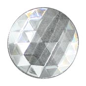 Clear Jewel - Round (50mm)