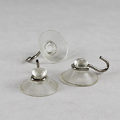 Small (3/4 in. Diameter) Suction Cups - Bag of 100