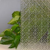 Mosaico (India Print) Clear Cathedral Import Texture Santa Maria