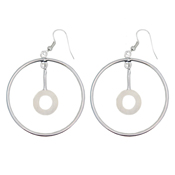 Earrings/Pendant Circle