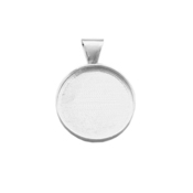 Pendant Circle Welled 1.5""
