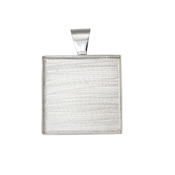 Pendant Square Welled 1.5""