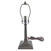 Lamp Base 8 in. Mission Bronze Finish