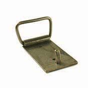 Antiqued Brass Belt Buckle - 1 in. loop