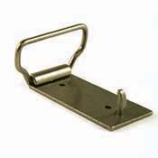 Antiqued Brass Belt Buckle - 1.5 in. loop