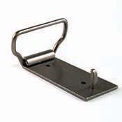 Antiqued Silver Belt Buckle - 1.5 in. loop