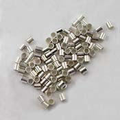 Crimp Tubes Sterling Silver 2mm x 2mm (Package of 100)