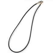 16 in. Dark Brown Leather Cord