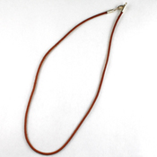 16 in. Light Brown Leather Cord