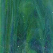 Dense Olive Green, Blue, Lime Green Wispy