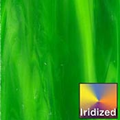 Lime Green Opalume / Green Iridized