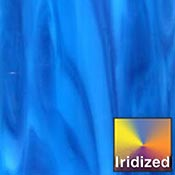 Medium Blue Opalume / Royal Blue Iridized