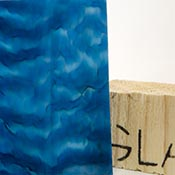 Medium Blue Opalume / Royal Blue Tight Ripple