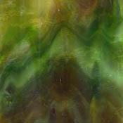 Green / Dark Amber / Opal Dense Granite Catspaw