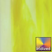Bright Yellow / Opal Wispy Iridized