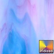 Sky Blue / Pink / Opal Iridized