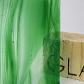 Hunter Green Opal / Clear