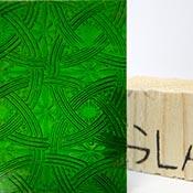 Dark Christmas Green Celtic Texture