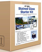 Stained Glass Starter Kit with Grinder
