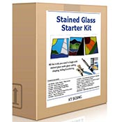 Stained Glass Starter Kit (Glass grinder sold separately)
