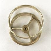 2 in. Wheel & Ring Set - Raw
