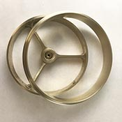 5 in. Wheel & Ring Set - Raw