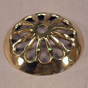 Vase Cap 3 in. Cut Brass