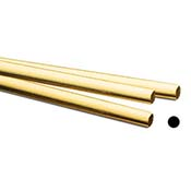 Fuming Gold -24K Yellow Gold Round Wire - 1 in.