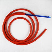 Silicone Blow Hose - Heavy Duty for lathe work - 6 ft.