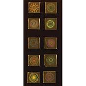 3/4 in. Kaleidoscopes on Borosilicate 33 COE
