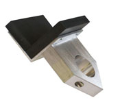 Graphite Torch Mount L Shaped Marver -3 x 2.5 in. for Bethlehem Bravo