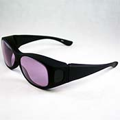 Didymium Plus/ACE Glasses in Fit-over Frame (Soft glass)