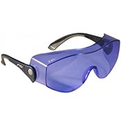 Polycarbonate Didymium Fit-Over Safety Glasses (Soft Glass)