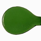 Transparent - Sage Green 19-1/2 in. Moretti rod 104 COE (1/4 lb. minimum order)
