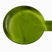 Transparent - Light Grass Green 19-1/2 in. Moretti rod 104 COE (1/4 lb. minimum order)