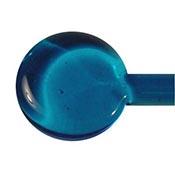 Transparent - Dark Aqua 19-1/2 in. Moretti rod 104 COE (1/4 lb. minimum order)