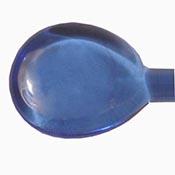 Transparent - Dark Blue 19-1/2 in. Moretti rod 104 COE (1/4 lb. minimum order)